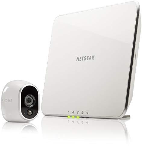 Arlo HD Smart Home 1 HD-Überwachungkamera-Sicherheitssystem (100% kabellos, Indoor/Outdoor, Bewegungssensor, Nachtsicht) weiß, VMS3130-100EUS