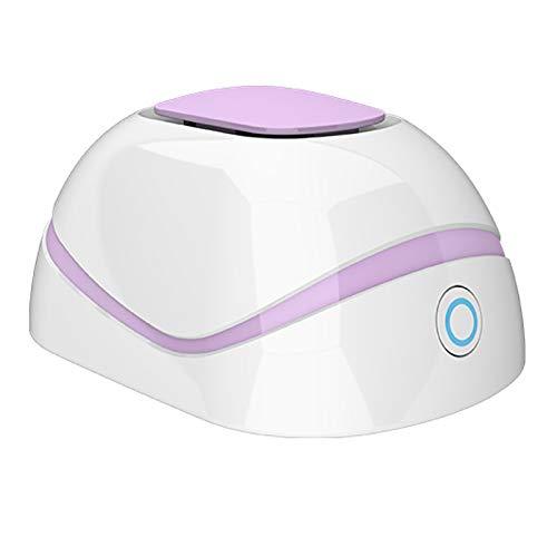 Timagebreze Generador de Ozono Casero Multiusos MáQuina de DesodorizacióN y DesinfeccióN Purificador de Aire Rosa