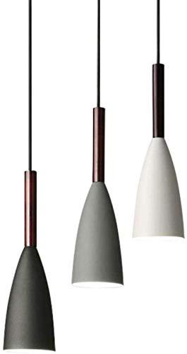 ® Chandelier Wall Light Modern 3 Iluminacion colgante Nordic Minimalista Lamparas colgantes sobre la mesa de comedor Cocina Isla Lamparas colgantes Luces de comedor