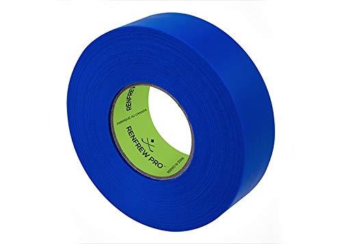 Renfrew Shin Pad Tape f. Stutzen Eishockey, Polyflex Stutzentape 24mm x 30m (royal blau)