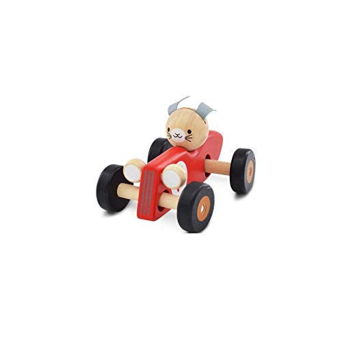 Why Choose CZLSD Toys Wooden Racing Cars-Push-Along Wooden- Educational Toddler Toy for Baby Boy and...
