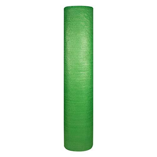 YXX Sombra Solar Malla Verde Paño De Sombra De Tela En Rollo, Red De Sombra con Protección Solar Al 95% Resistente A Los Rayos UV para Invernaderos, Plantas De Jardín, Vegetales, Porches Y Pérgolas