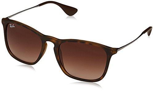 Ray-Ban MOD. 4187 Ray-Ban Sonnenbrille Mod. 4187 Rechteckig Sonnenbrille 54, Braun