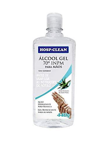Álcool Gel Anticéptico 70% Inpm 440g Para Mãos