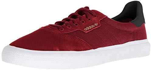 adidas 3MC (Collegiate Burgundy/Core Black/Gold Metallic) Men's Skate Shoes-8.5