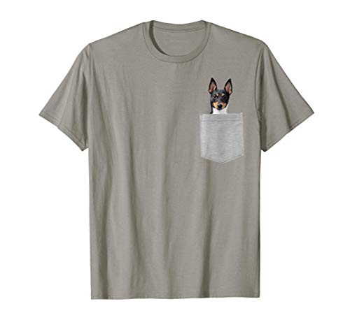 Dog in Your Pocket Toy Fox Terrier Camiseta