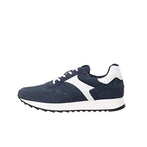 Nero Giardini P900940U Sneakers Uomo in Pelle, Camoscio E Tela - Incanto 42 EU