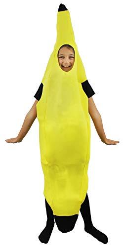 Déguisement de Banane ILOVEFANCYDRESS pour Enfant. ( 7-9 Ans )