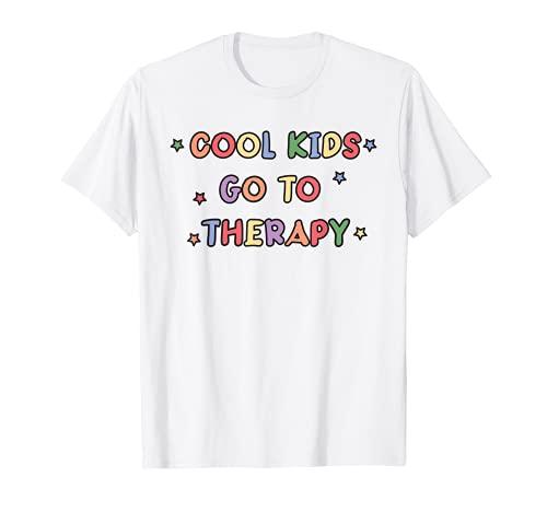 Terapeuta Física Ocupacional Pediátrica Terapia Cool Kids Camiseta