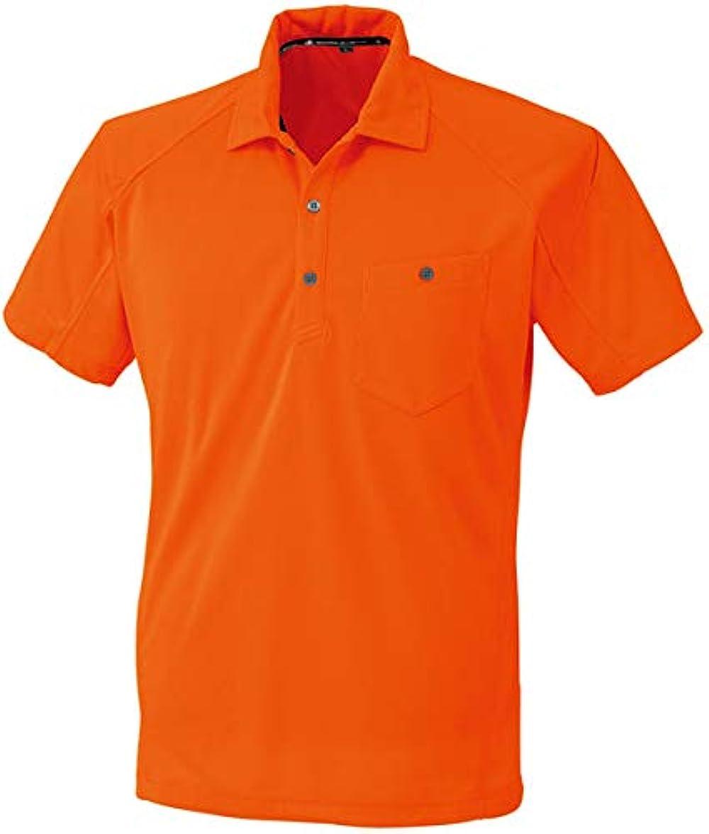 好き気をつけてセージコーコス 半袖ポロシャツ オレンジ M ※取寄品 A-4377