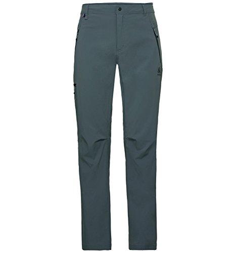 Odlo Short pour Homme Lenght Wedge Mount Pantalon 56 odlo Steel Grey