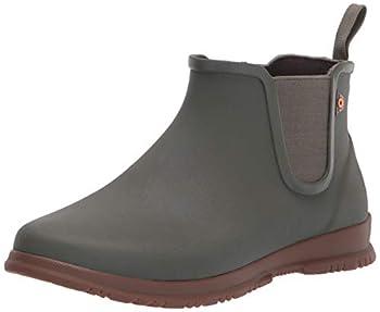 Bogs Women s Sweetpea Ankle Waterproof Rain Boot Sage 8