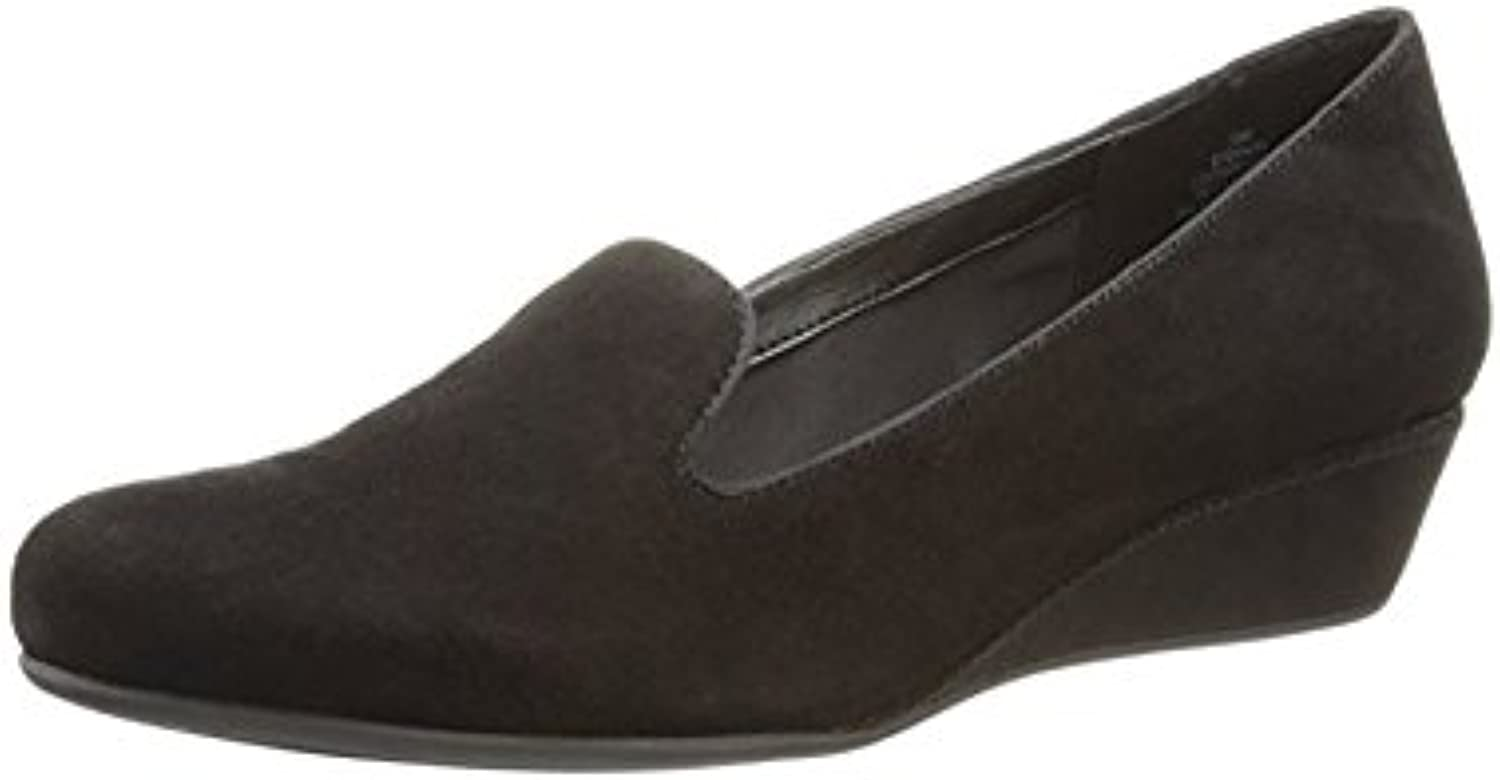Easy Spirit Davitia Wedges Black Suede 5m