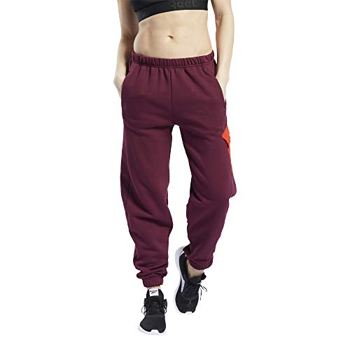 Reebok Workout Ready Meet You There Jogger Pants, Maroon, L