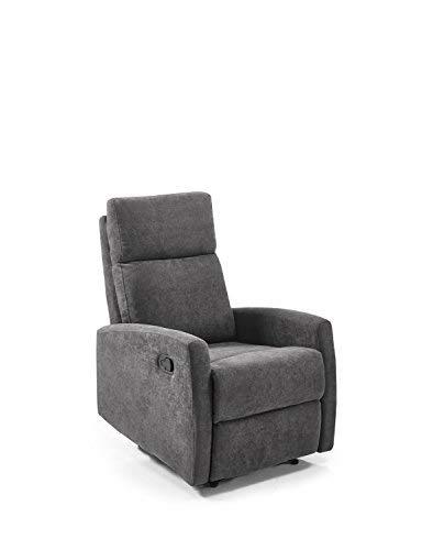 ConfortChoice - Verstellbarer Sessel Butterfly/Grau 82x66x103cm…