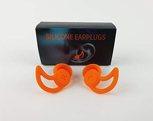 MUTE EARPLUGS. Tapones de oidos reutilizables diseñados para cancelar el ruido y así poder dormir mejor. También son impermeables y perfectos para el baño y la piscina.