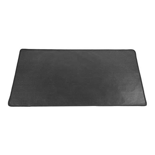 Rubyu-123 Feuerfester Teppich, Mehrschichtige Feuerfeste Matte, Schwarz, Hitzebeständige Hitzeschutzplatte, Bodenschutz für Ofen, Kamin und Grill, Feuerstellenzubehör, 3 Größen