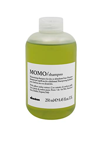 Davines Momo Moisturizing Shampoo for Dry and Dehydrated Hair, 8.45 Ounce