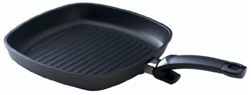 Fissler special grill / Grill-Pfanne (28 x 28 cm) beschichtete Bratpfanne, Aluminium-Steakpfanne, antihaftversiegelt – alle Herdarten außer Induktion