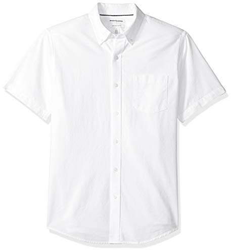 Amazon Essentials – Camisa Oxford de manga corta de corte