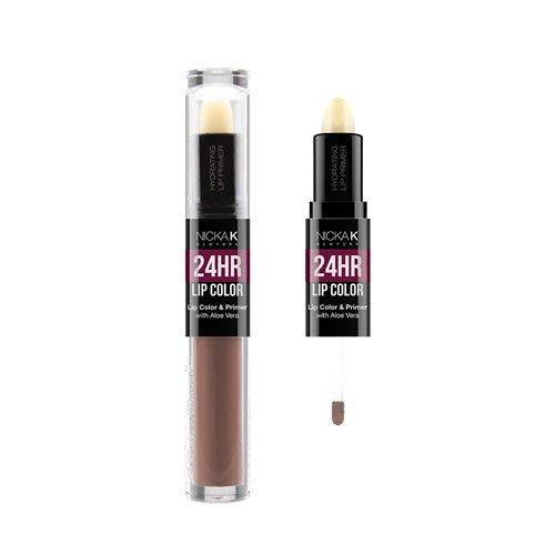 NICKA K 24HR Lip Color and Primer - #08 Light Taupe