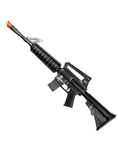 Horror-Shop Hartschaumstoff Maschinengewehr als Spielzeugwaffe