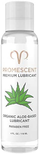 Promescent Premium Organic Aloe Based Lubricants for Sex Aloe Lube for Women Men Couples Toy product image