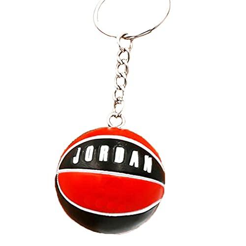 FANwenfeng Número de jugador de baloncesto llavero recuerdo coche colgante decoración deportes...