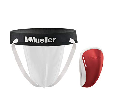 Mueller Adult Flex Shield with Support Shorts White