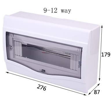 Guangcailun Elektroverteilerkasten 2-4/5-8/9-12 Möglichkeiten, Wege Verteilerkasten Verteiler Surface Mounted Circuit Breaker Verteilung Protection Box