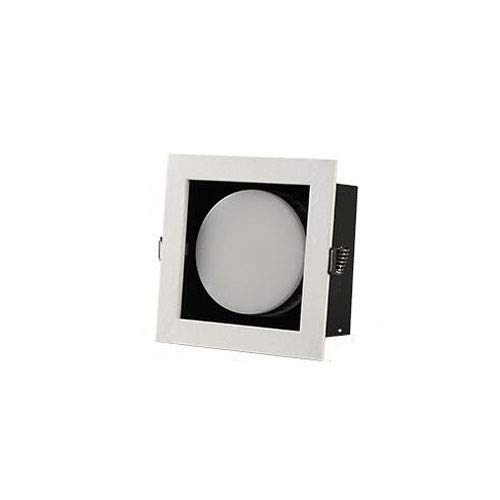 HSCW Downlight LED 9W empotrable de techo 900LM, corte Φ10cm, focos cuadrados...