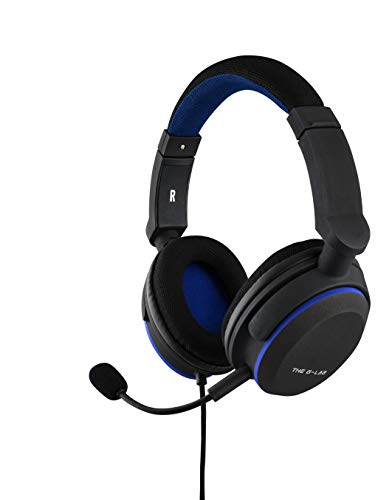 THE G-LAB Korp Oxygen P - Auriculares Gaming, Micrófono Desmontable - Compatibles con PC, PS4, Xbox One, Switch, Smartphone (Negro)