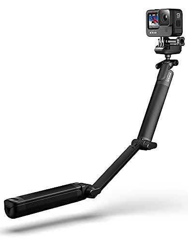 GoPro 3-Way 2.0 (Treppiedi/Impugnatura/Braccio) - Accessorio ufficiale GoPro, Nero