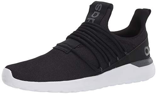 adidas Men's Lite Racer Adapt 3.0 Running Shoe, Black/Black/Grey, 10.5