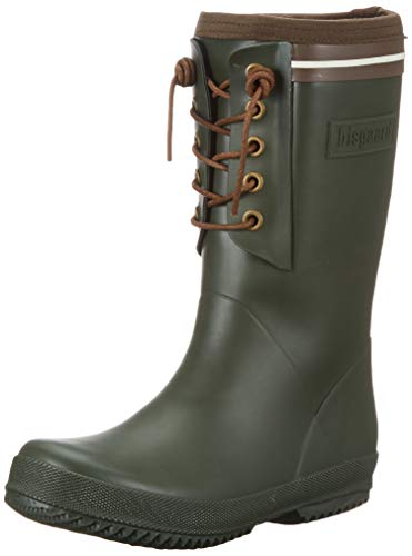 Bisgaard Unisex-Kinder Rubber Boot-LACE Thermo Gummistiefel, Grün (Green 30), 34 EU