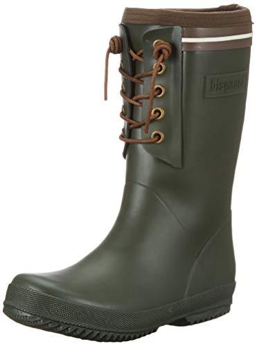 Bisgaard Unisex-Kinder Rubber Boot-LACE Thermo Gummistiefel, Grün (Green 30), 29 EU