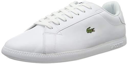 Lacoste Womens Graduate BL 1 SFA Sneaker, Weiß (White/White), 39 EU
