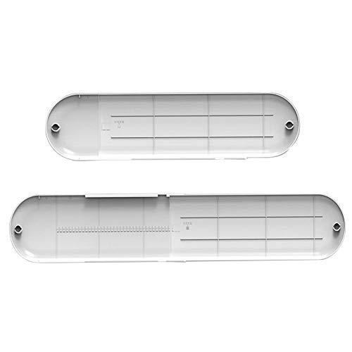 Deflector de aire rethyrel – Deflector de aire ajustable plegable para aire acondicionado – Cubierta de ventilación para parabrisas