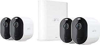 Arlo Pro3 Caméra de surveillance Wifi extérieure. Caméra IP 2K HDR, rechargeable. Grand angle 160°, Audio Bi-directionnel Eclairage spotlight intégré, IP65 Pack de 4 caméras (VMS4440P) (B07XZQQ76G) | Amazon price tracker / tracking, Amazon price history charts, Amazon price watches, Amazon price drop alerts