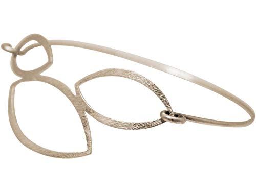 Gemshine YOGA Lotusblumen Armband. 925 Silber, hochwertig vergoldet, rose vergoldet. Made in Madrid/Spain. Nachhaltiger, qualitätsvoller Schmuck, Metall Farbe:Silber