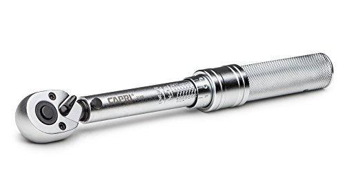 Capri Tools 31200 30-150 Inch Pound Industrial Torque Wrench, 1 4