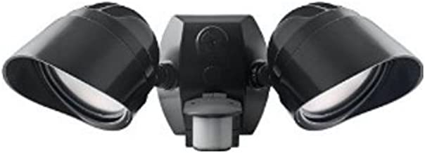 RAB Lighting Smsbullet2X12Na Two Adjustable 12W LED Floodlights, Bronze, Hardwired