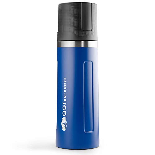 GSI Outdoors Stainless Vacuum Botella, Unisex Adulto, Blue, 1 L