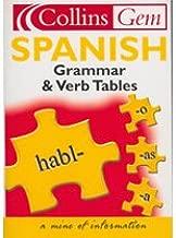 Spanish Grammar and Verb Tables (Collins GEM)