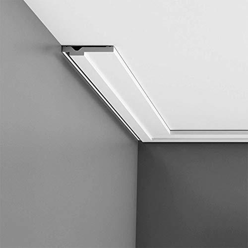 Dekor Stuckleiste Wand Orac Decor CX161 AXXENT Zierleiste Profilleiste Profil Decken Boden Leiste   2 Meter