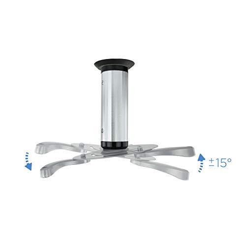 TooQ PJ1010TN-S - Soporte inclinable y giratorio de techo para ...