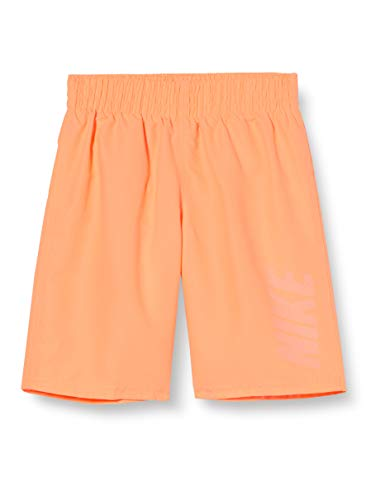 NIKE Bañador Niño Pantalones Cortos, Niños, Orange Pulse, 4 años