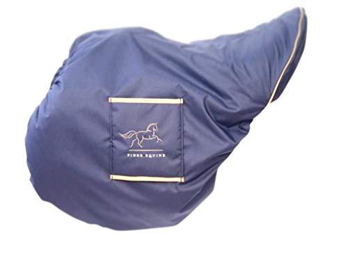 Finer Equine Jump/General Purpose GP Housse de selle – Housse de selle imperméable doublée en peau de mouton Taille L