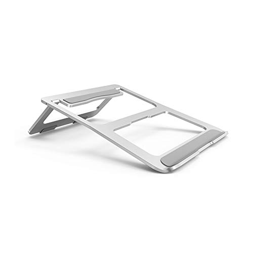 GMZS Laptop Stand, Aluminum Alloy Portable Foldable Computer Cooling Base, Suitable for 10 To 15.6-Inch Laptop Desktop Stand