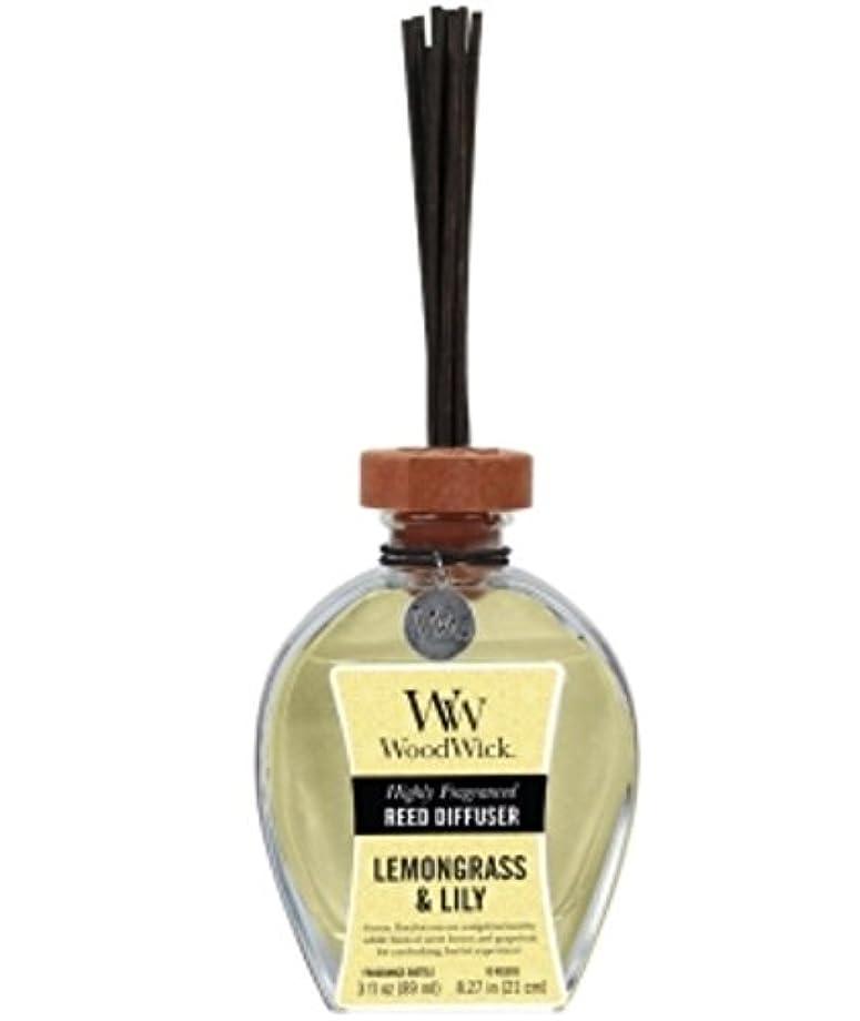 衝突季節アレンジWood Wick リードディフューザーS 「レモングラス&リリー」 W955051050